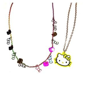 Hello Kitty Necklace Bundle